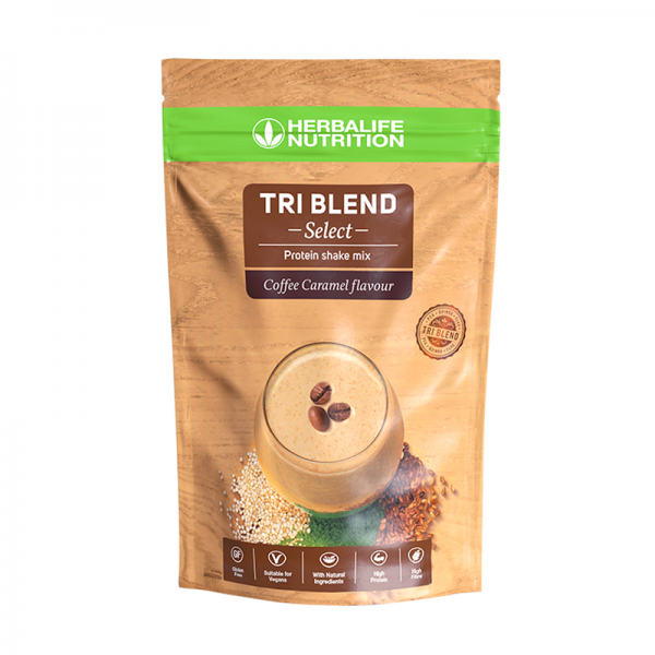 Herbalife Tri Blend Select Coffee caramel