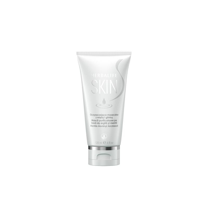 Herbalife SKIN Mască purificatoare pe bază de argilă şi mentă 120ml