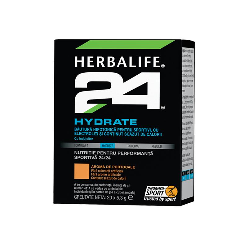 Herbalife H24 Hydrate Portocaliu