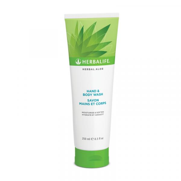 Herbal Aloe Gel de Curăţare pentru Mâini şi Corp 250ml