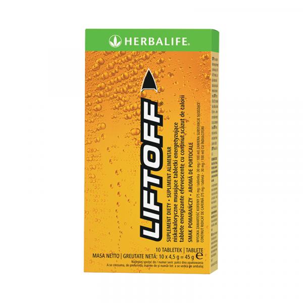 Herbalife LiftOff Efervescent Băutură energizantă Portocaliu