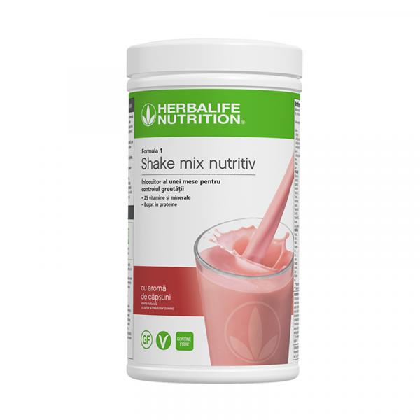 Herbalife Shake Formula 1 Căpșune 550g