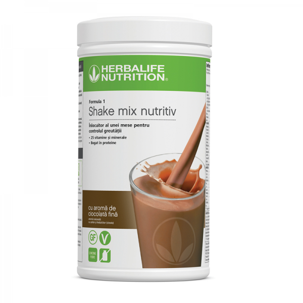 Herbalife Shake Formula 1 Ciocolată fină 550g