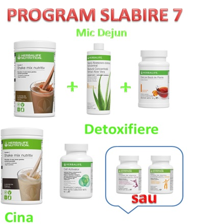 Program Slabire Herbalife 7